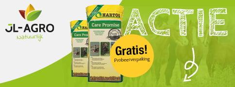 Gratis probeerverpakking Hartog Care Promise Kruidenslobber JL-Agro